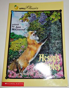 Aesop's Fables retold by Ann McGovern Paperback HOD 79 pgs Illustrated