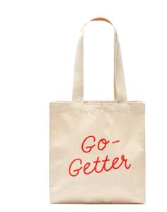 Meet the Go-Getter Tote. Unique Mothers Day Gifts, Mother Day Gifts, Go Getter, Hand Designs, Thoughtful Gifts, Reusable Tote Bags, Meals, Gift Ideas, School