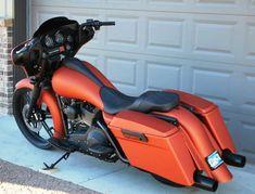 2004 Harley Davidson Custom Bagger #harleydavidsonbaggerpaint #harleyddavidsonstreet