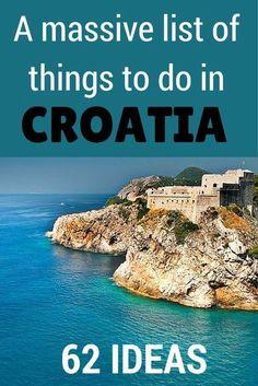 Roadtrip door Kroatië? In dit artikel vind je een lijst met geweldig leuke must do's.