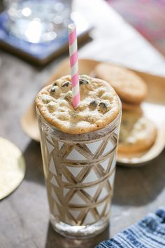 Boozy milkshake with coffee ice cream and bourbon