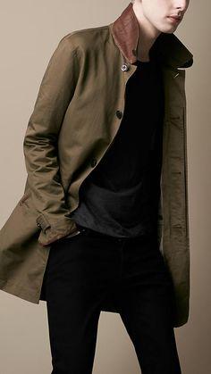 YUNY Men Warm Fur Collar Mid Long Blend Toggle Regular Parka Jacket Camel XL