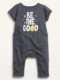 Old Navy Gap, Shop Old Navy, Hippie Baby Clothes, Gender Neutral Baby Clothes, Baby Boy Outfits, Clothing Patterns, French Terry, Kids Fashion, One Piece