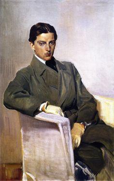 Joaquín Sorolla - Retrato de Joaquin Sorolla Garcia