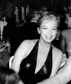 Marilyn Monroe at the April in Paris Ball at the Waldorf Astoria, NYC, April 1st 1957.