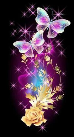58 Ideas For Flowers Spring Wallpaper Colour in 2019 Butterfly Artwork, Butterfly Drawing, Butterfly Pictures, Butterfly Wallpaper, Purple Butterfly, Vintage Butterfly, Heart Wallpaper, Love Wallpaper, Cellphone Wallpaper