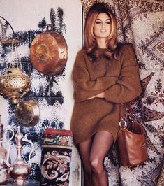 Cindy Crawford was feeling very fall-ish and '90s with her pic. | 9 Celebrity…