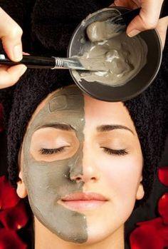 Heilerde-Gesichtsmaske selber machen - mit nur 2 Zutaten - hilft bei Pickel, Mitesser und unreiner Haut.