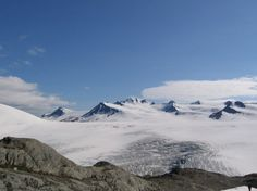 Alaska - Harding Ice Field