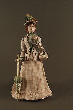 1:12 scale OOAK Victorian Lady by IGMA Artisan Annemarie Kwikkel