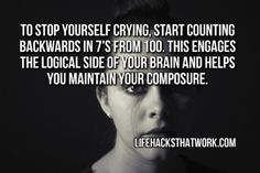 Compose yourself quickly and effectively