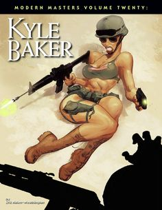 """Modern Masters Volume 20: Kyle Baker  Kyle Baker may well be the funniest man in comics. With books like The Cowboy Wally Show, Why I Hate Saturn, Plastic Man, and The Bakers on his resume, along with four (of his eight) Eisner Awards in the """"Best Writer/Artist Humor"""" category, it's hard to argue against him. But he does serious, too—and you can't get much more serious than Nat Turner. He is the all-around cartoonist—he can write, pencil, ink, and color with the best of them. His work has…"""