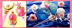 Sailor Moon's Moon Rods/Wands Inspire Chopsticks - What the English Sailor Moon dub called a Crescent Moon Wand, the original Japanese anime (and the new English manga translation) calls a Moon Stick. So what better way to use a Moon Stick everyday than as chopsticks?