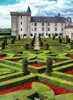 Château de Villandry | french renaissance #garden