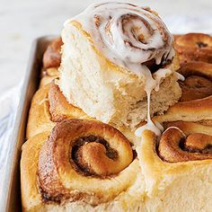 Potato Cinnamon Rolls From Better Homes and Gardens, ideas and improvement projects for your home and garden plus recipes and entertaining ideas.