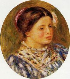 Pierre-Auguste Renoir - Girl in Blue
