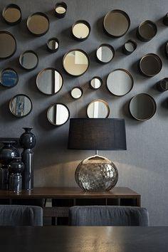 Cosmopolitan living by Dome Deco Wall Art Decor, Interior Inspiration, Nars, Wall Lights, House Design, Living Room, Interior Design, House Styles, Mirrors