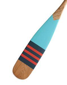 Design Work Life » Painted Canoe Paddles Nautical Design, Nautical Theme, Painted Oars, Oar Decor, Paddle Boat, Color Studies, Cottage Design, Colour Board, Life Design
