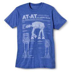 Men's Star Wars T-Shirt Royal Blue, Size: Medium