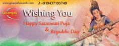 Gitanjaliawards Wishes You All a very Happy #SaraswatiPuja & #RepublicDay !!