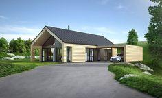 Knerten, en liten og enkel bolig | Norgeshus, vi bygger ferdighus, hytter og hus.