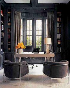 Monique Lhullier's home office