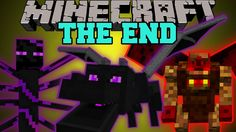Minecraft: THE END MOD (HARDCORE BOSSES, DUNGEONS, & EPIC ITEMS!) Mod Sh...