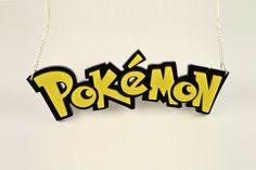 Pokemon Necklace - Laser Cut Acrylic