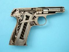 Remington Model 51 Cutaway Photo by TheRealHobie | Photobucket