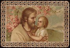 el blog del padre eduardo: Antiguas estampas de san José