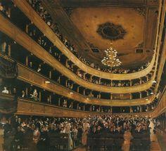 クリムト - ウィーン、旧ブルク劇場の観客席から
