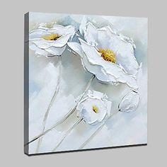 Pintado a mano flores pinturas al óleo sobre lienzo moderno cuadro de arte abstracto para la sala de estar decoración del hogar 2018 - $31916