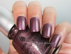 China Glaze When Stars Collide - Hologlam Collection