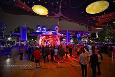 """Disneyland's Tomorrowland Terrace"""