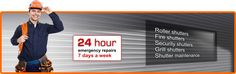 Alert 4 Shutter Ltd specialises in a fast, efficient and reliable 24 hour emergency repair service.