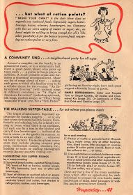 1943 Betty Crocker Your Share - Wartime Meal Planning