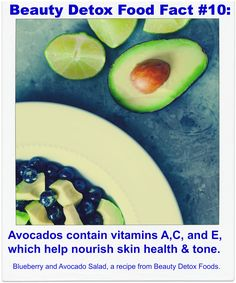 Blueberry and Avocado Salad from Beauty Detox Foods