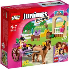 Lego Juniors Friend 10726 Stephanie's Horse Carriage Set New/Sealed 58pc Ages 4+ #LEGO