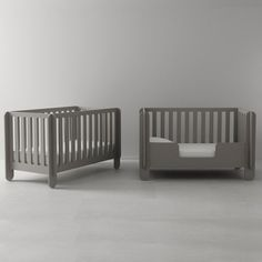 The Oeuf Elephant Crib was designed to be a fun addition to a nursery and to make the lives of modern parents easier! The Elephant Crib also converts to Sparrow Toddler Bed with the purchase of conversion kit. Modern Nursery Furniture, Modern Crib, Kool Kids, Nursery Crib, Baby Boy Nurseries, Cribs, Toddler Bed, Kids Room, Elephant