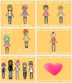. #gsm #lgbtq #feminism #equality #genderfluid #genderidentity