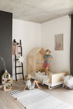 Kutikai kids furniture: modern furniture for the kids room and playroom.