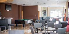 Sala de Billar Hotel ATH Al-Medina Wellness 4 estrellas en Medina-Sidonia, Cádiz, España.