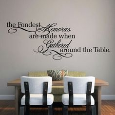 Shop for The Fondest Memories' 60 x 22-inch Large Wall Decal. Free Shipping on orders over $45 at Overstock.com - Your Online Home Decor Store! Get 5% in rewards with Club O!
