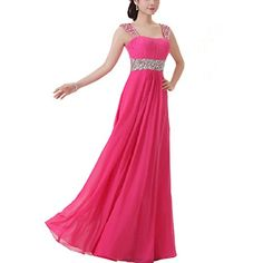 Damen langes Abendkleid mit Schultertraeger Chiffonkleid Cocktailkleid Festkleid (S,Rose) Fashion Season http://www.amazon.de/dp/B00M8SBEHU/ref=cm_sw_r_pi_dp_Qu13tb065VXQG3P7