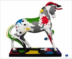 The Trail of  Painted Ponies The Artist