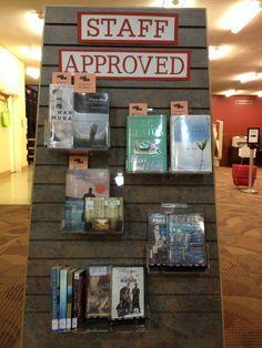 staff picks library display - Google Search