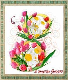 By Éphémeride seasonal calender 8 Martie, Art Nouveau Flowers, Happy Women, Earth Day, Science And Nature, Ladies Day, Cookie Decorating, Halloween Party, Flower Arrangements