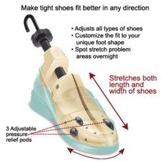 Footsmart FitRight Two-Way Shoe Stretcher : Footsmart.com