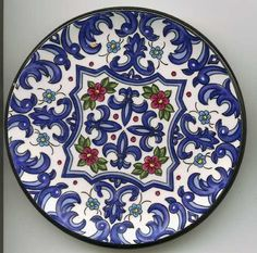 1000 images about platos on pinterest china plates and blue china - Platos ceramica colores ...