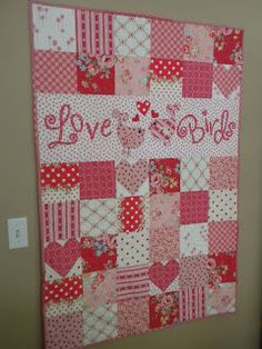 Sewing Sisters: A History of my Valentine Quilts